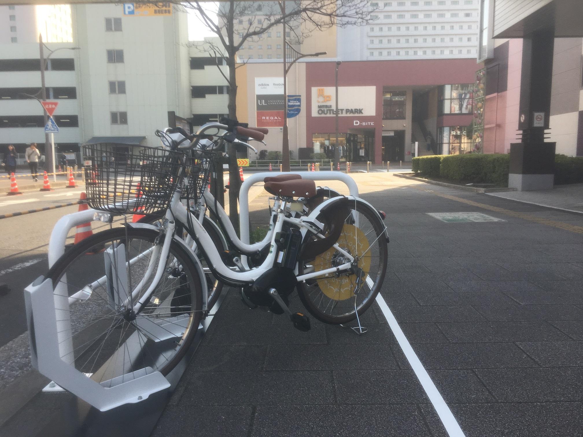 三井アウトレットパーク幕張前(2) (HELLO CYCLING ポート) image